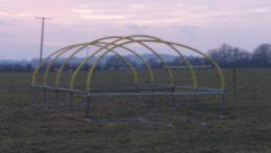 Mobile Poultry Unit - frame