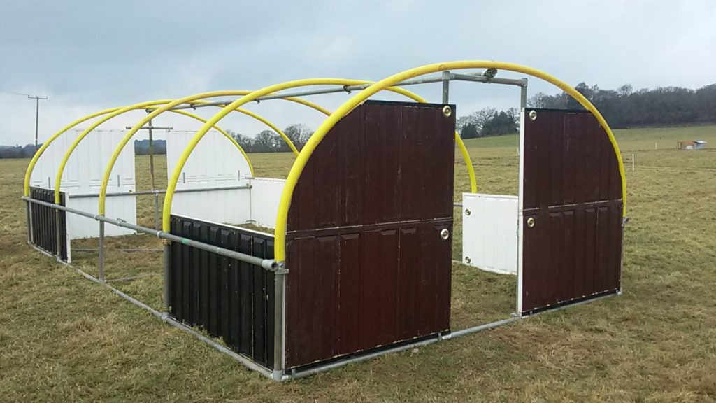 Mobile Poultry Unit - panels