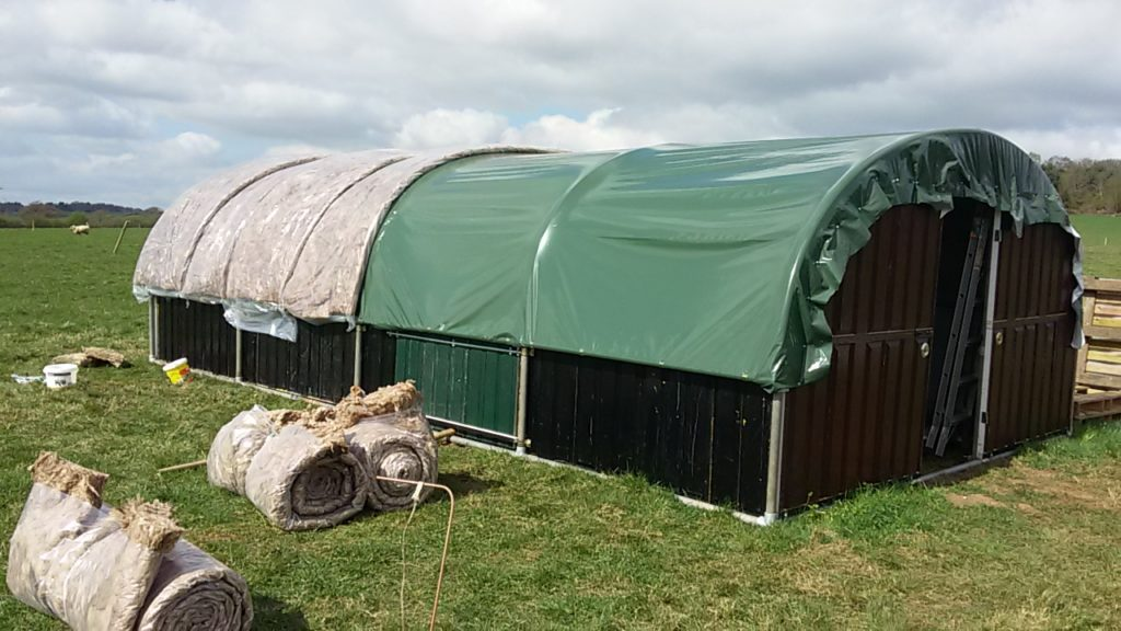 Mobile Poultry Unit - insulation